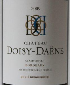 Doisy Daene Blanc sec 2009