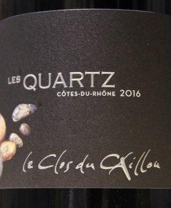 Clos du Caillou Côtes du Rhône Les Quartz 2016