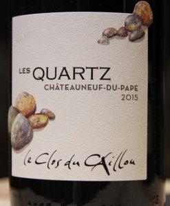 Clos du Caillou Quartz Chateauneuf 2015