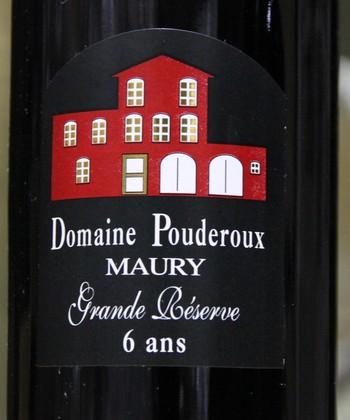 Domaine Pouderoux Maury Grande réserve